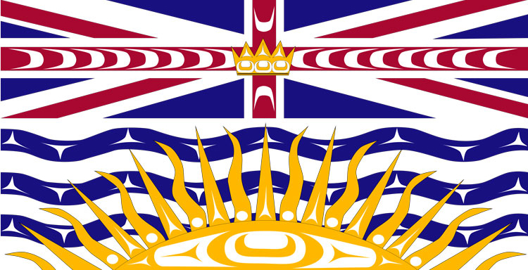 British Columbia Indigenous Flag by Lou-ann Neel