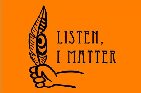 Listen, I Matter Flags by Curtis Wilson