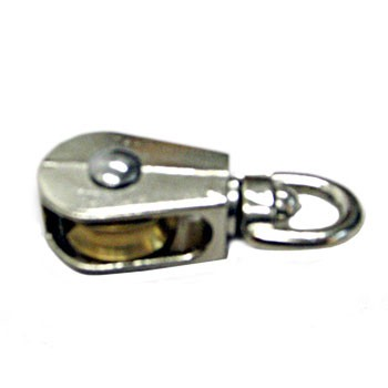 "Pulley, 1"" Swivel Single Eye"