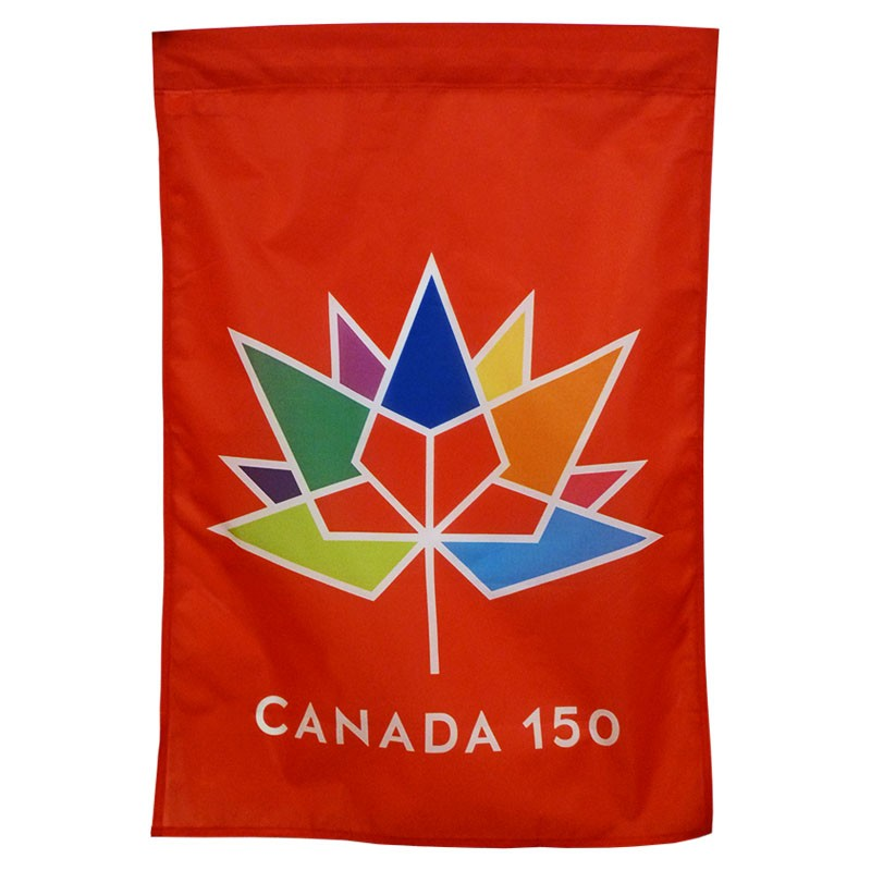 Canada 150 Red Banners