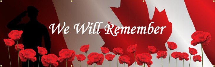 We Will Remember Banner (English)