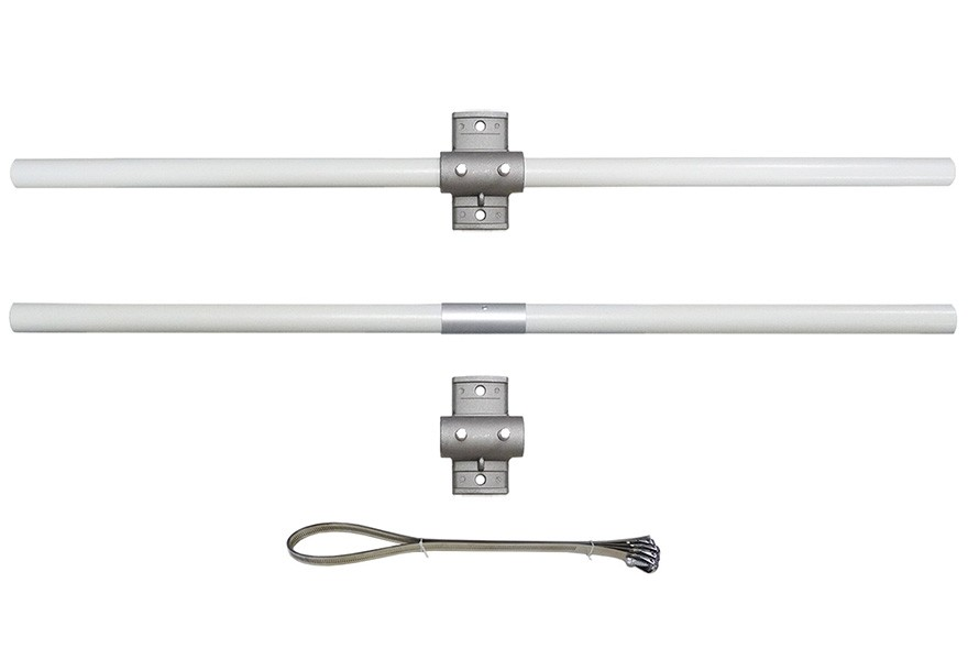 Avenue Banner Hardware - Double 18