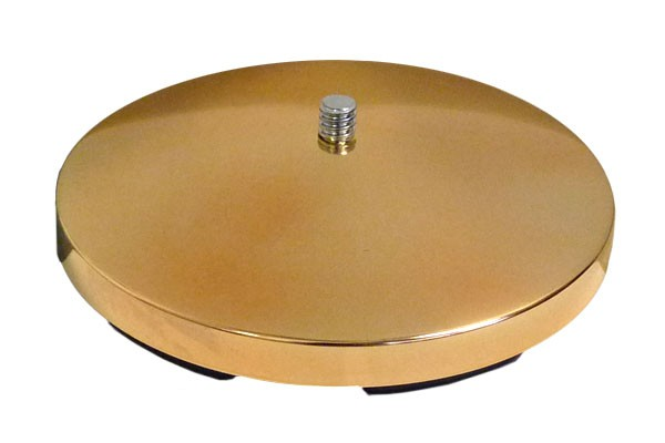 Round Gold Metal Stand