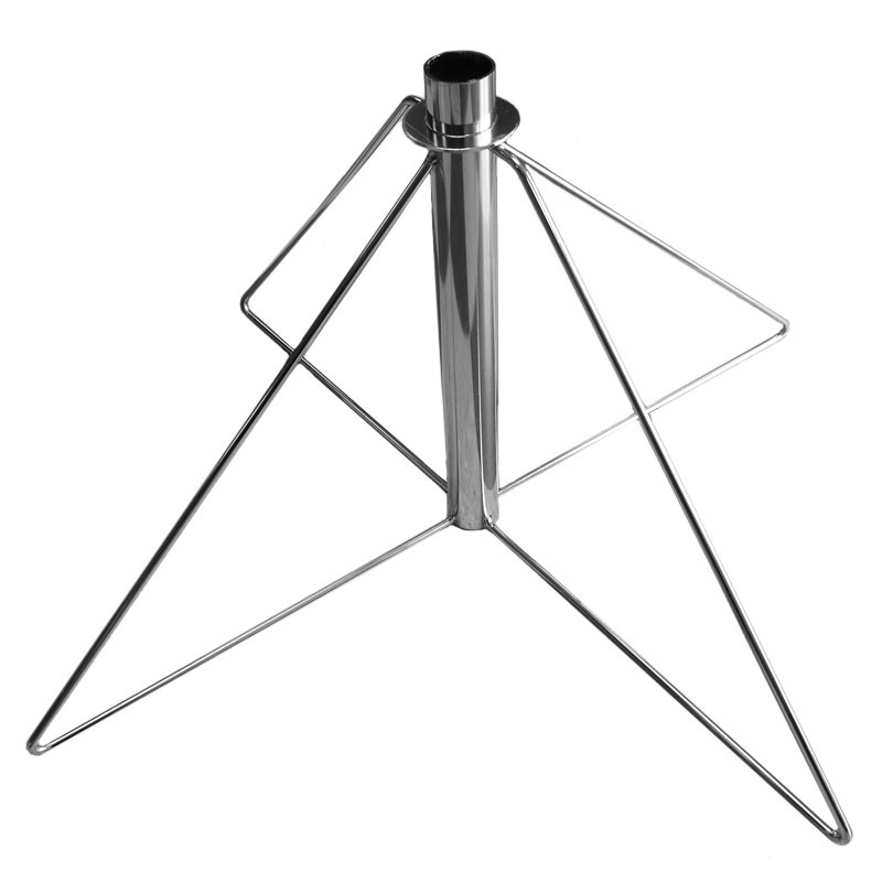 Wire Folding Stand (Tall), Silver