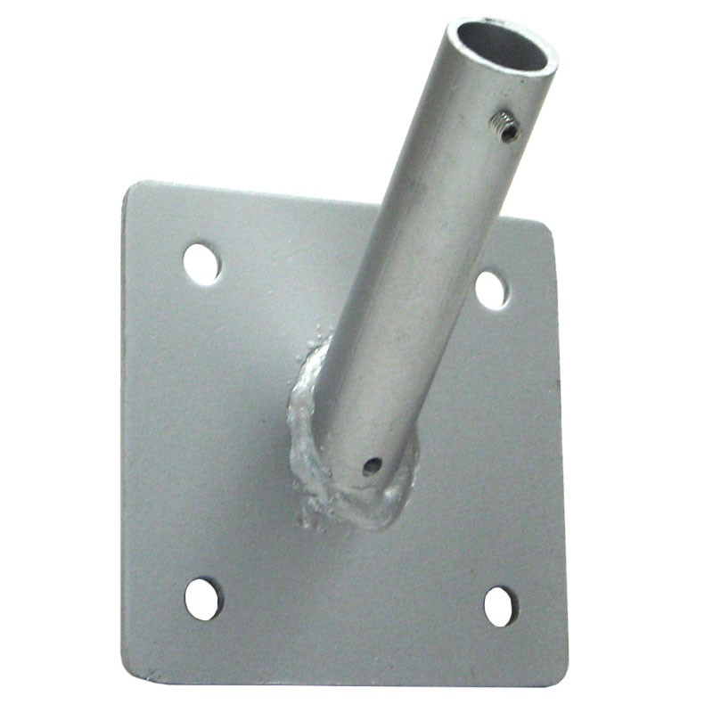 "1"" Single Outrigger Bracket, Zinc Plated"