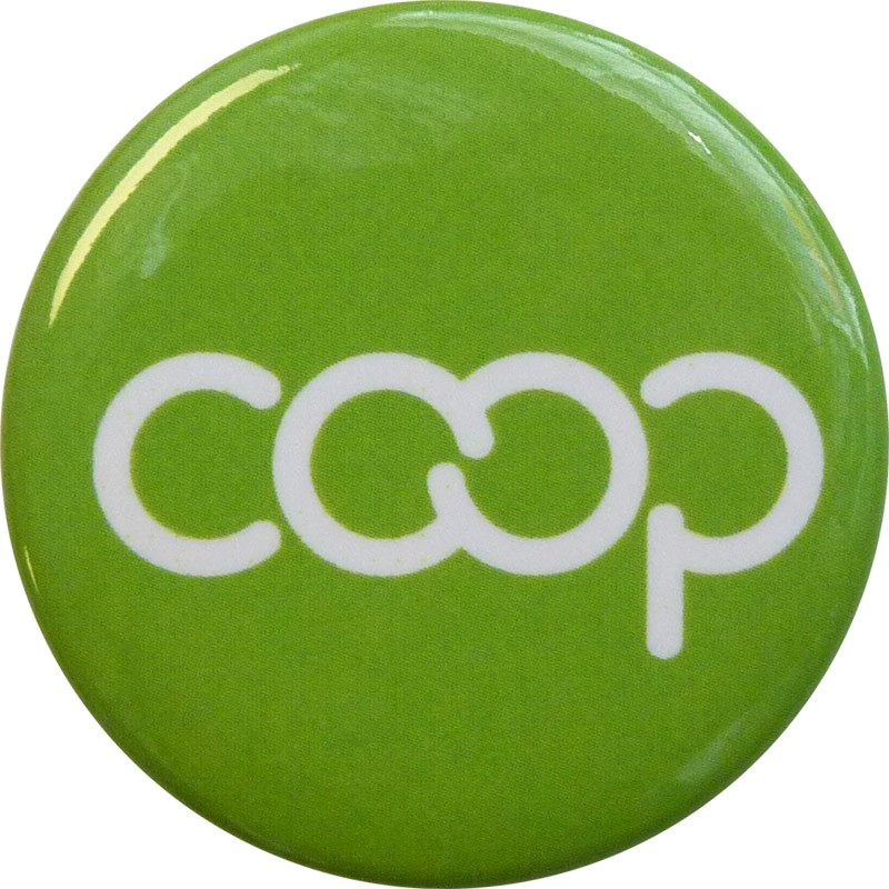 Co-op Button, Lime