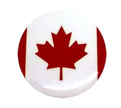"Canada 1.5"" Round Button"