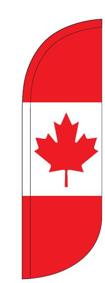 Canada Feather Flag - Flag Only