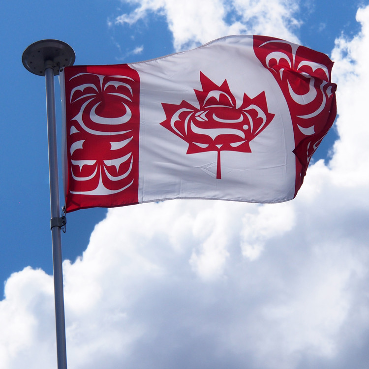 3'x6' Canadian Native Flag