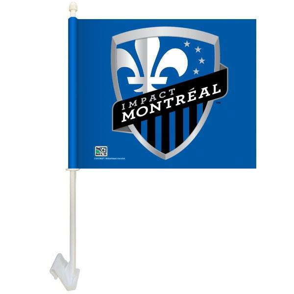 Montreal Impact Car Flag