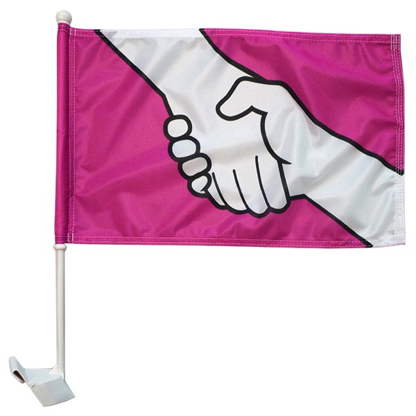 "12"" x 18"" Anti-Bullying Car Flags"