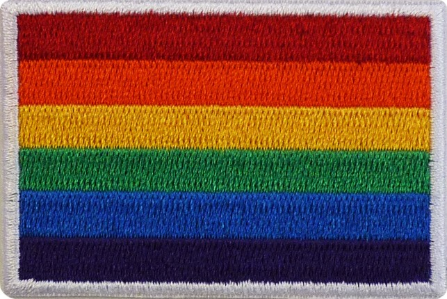 Pride Flag Patch - Small