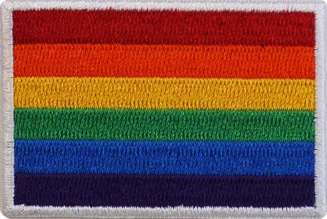 """Pride 1.5""""x2.5"""" Crest"""