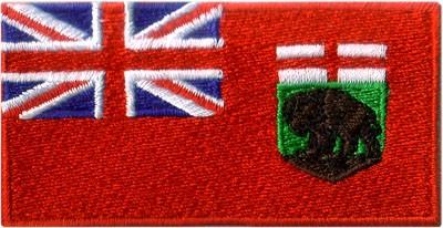 """Manitoba 1.5""""x2.5"""" Crest"""
