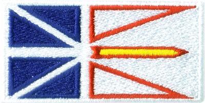 "Newfoundland 1.5""x2.5"" Crest"