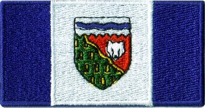 "Northwest Territories 1.5""x2.5"" Crest"