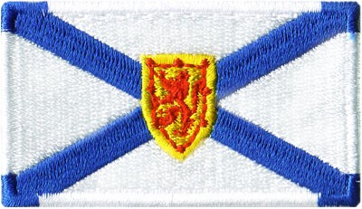 """Nova Scotia 1.5""""x2.5"""" Crest"""