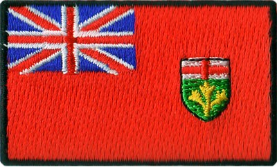 "Ontario 1.5""x2.5"" Crest"