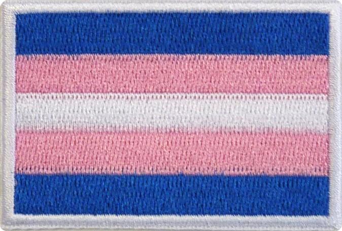 """Transgender 1.5""""x2.5"""" Crest"""