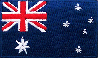"Australia 1.5""x 2.5"" Crest"