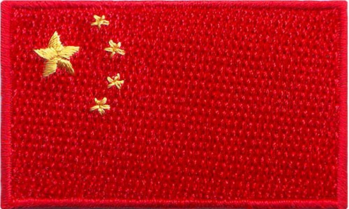 "China 1.5""x 2.5"" Crest"