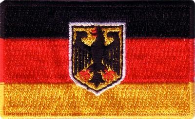 "Germany 1.5""x 2.5"" Crest (w/ eagle)"