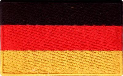 "Germany 1.5""x 2.5"" Crest"