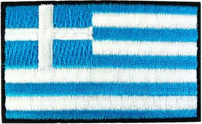 "Greece 1.5""x 2.5"" Crest"