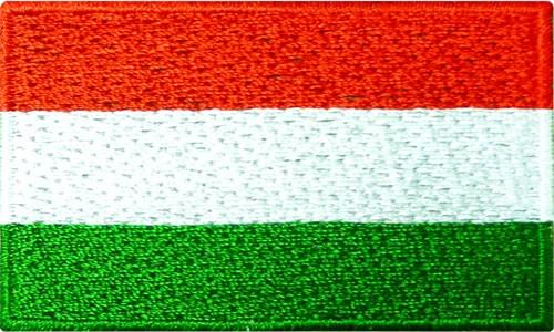 "Hungary 1.5""x 2.5"" Crest"