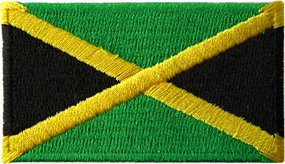 """Jamaica 1.5""""x 2.5"""" Crest"""
