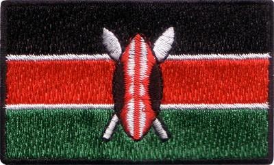 "Kenya 1.5""x 2.5"" Crest"