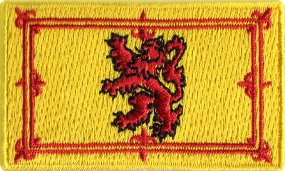 """Scottish 1.5""""x 2.5"""" Crest"""