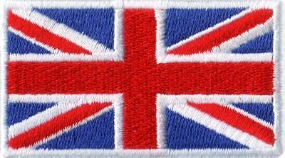 """Union Jack 1.5""""x 2.5"""" Crest"""