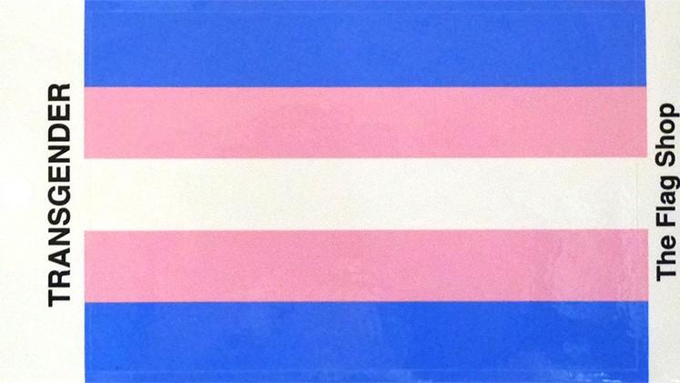 "Transgender 3.25""x5"" Vinyl Decal (New!)"