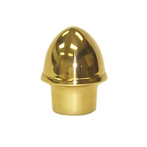 Acorn Finial, Brass Plated