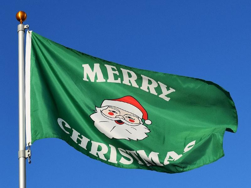 Decorative Christmas Flags