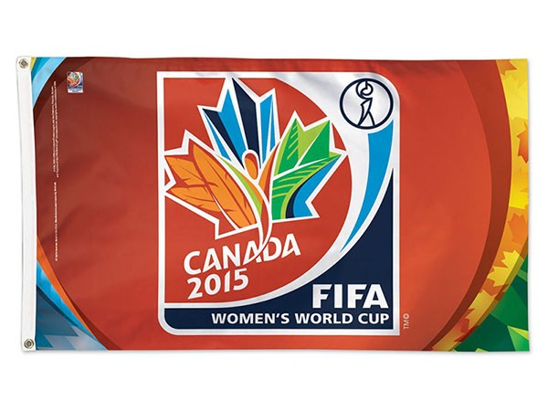 FIFA 2015 Official Logo Flag