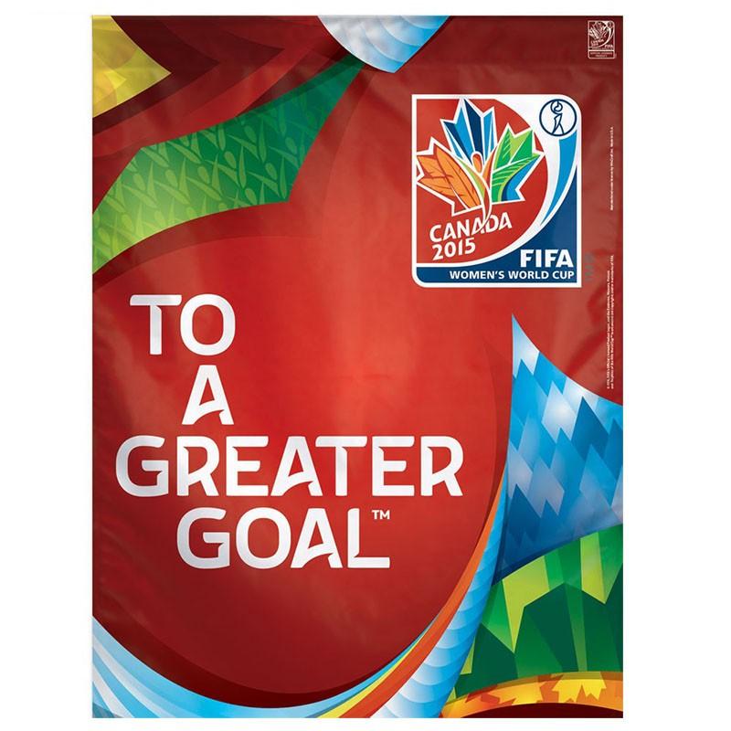 "FIFA 2015 ""Greater Goal"" Vertical Flag"