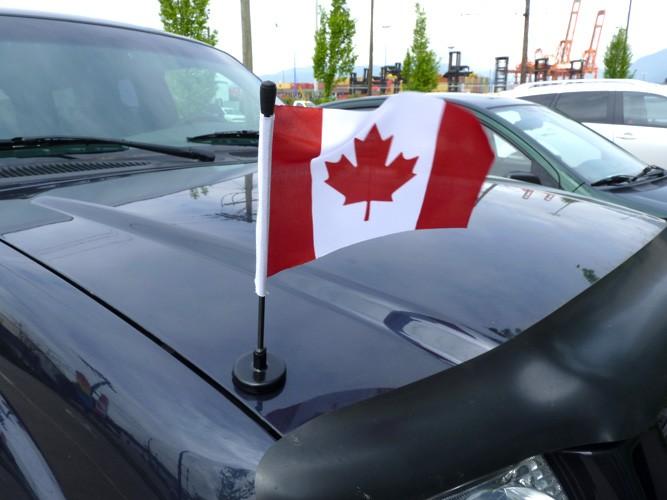 Magnetic Car Flagpoles Flexible Car Poles Magnetic Car Poles