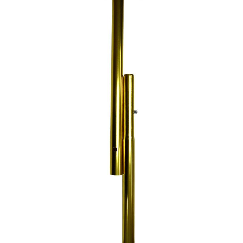 "8'x1"" Aluminum Flagpole, Gold"