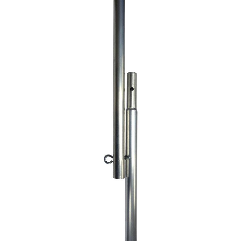 "8'x1"" Aluminum Flagpole"