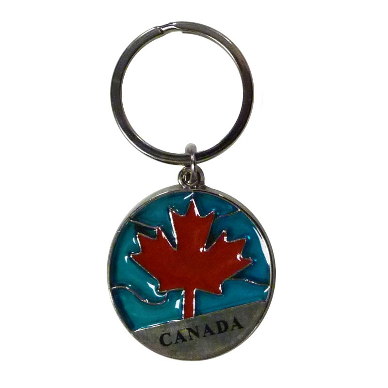 Canadian Maple Leaf Key Chain