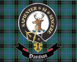 davidson clan highland flags amp banners other flags