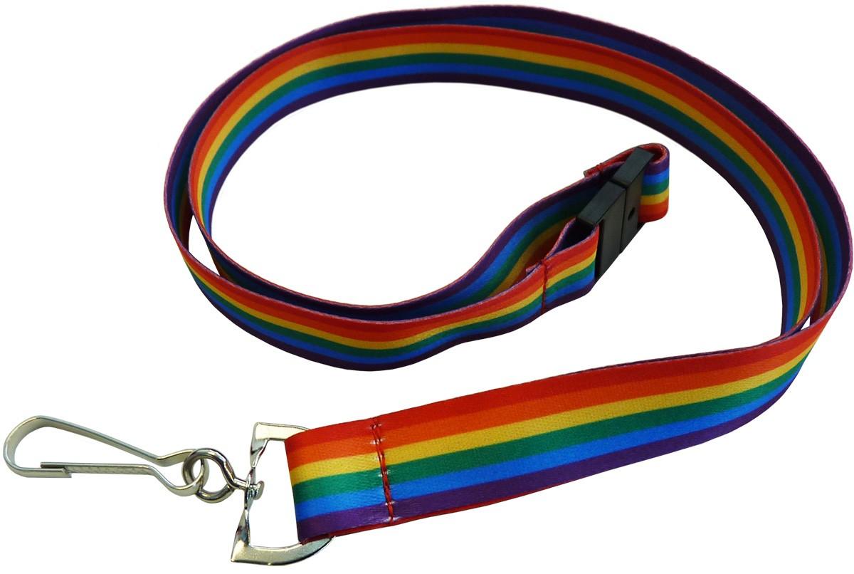 Pride (Rainbow) Lanyards