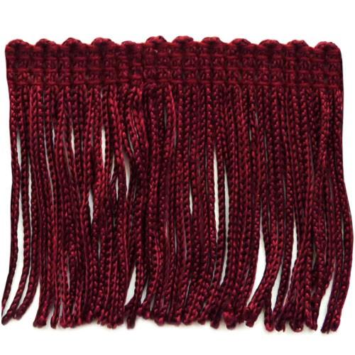 "2"" Ruby Red Fringe"