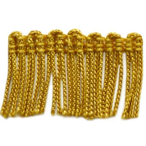 """1"""" Whiskey Gold Fringe"""