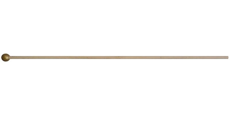 "24"" Natural Wood Stick (gold ball top)"