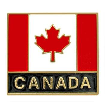 b431fe40fea Canada Flag Enamel Pin (3 4