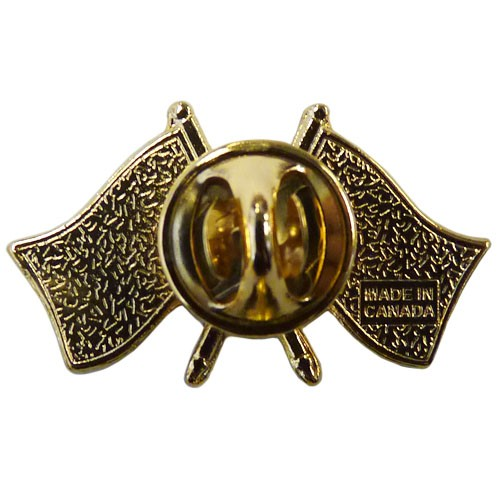 canada china crossed pin