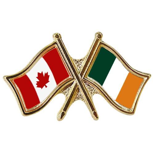 Canada/Ireland Crossed Pin